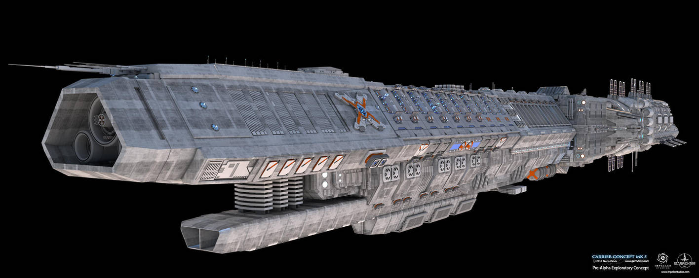 Carrier Concept-MK5-HDR by GlennClovis