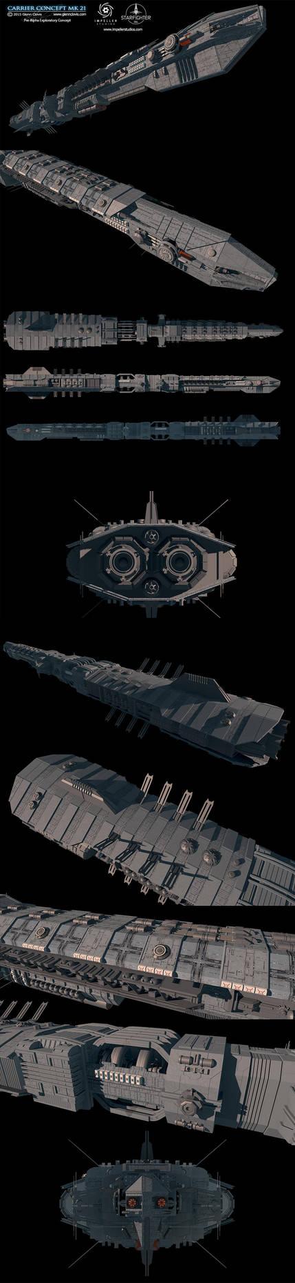 Carrier Concept-MK21 by GlennClovis