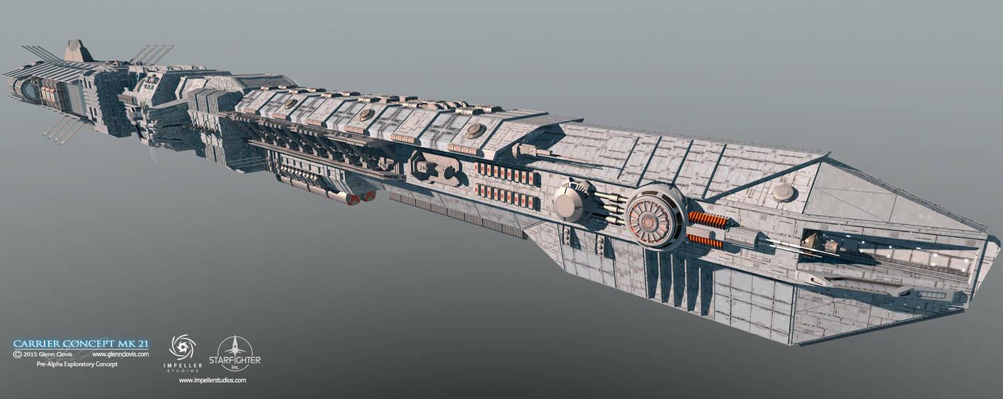 Carrier Concept-MK21-HDR by GlennClovis