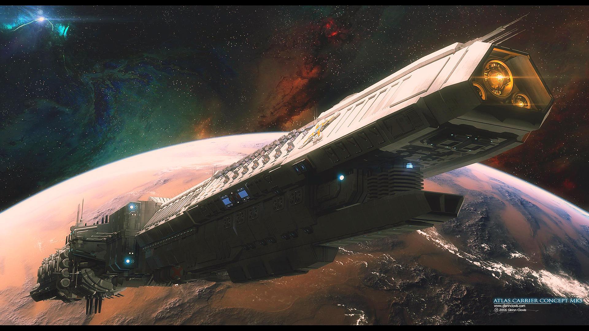 Atlas Carrier Concept MK5 by GlennClovis