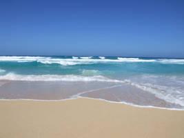 Empty beach 1 by TimeWizardStock