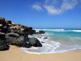Empty Beach 7 by TimeWizardStock