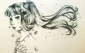 Star Child by BixbiteBunny