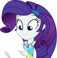 [Vector] Rarity looks at the test results by TheBarSection