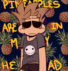 Pineapples by Hiroensui