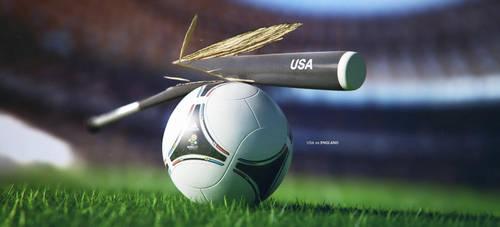 USA vs England by Ready2die87