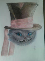 cheshire cat by jospic