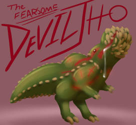 The Fearsome Deviljho! by The-Pyromanecer