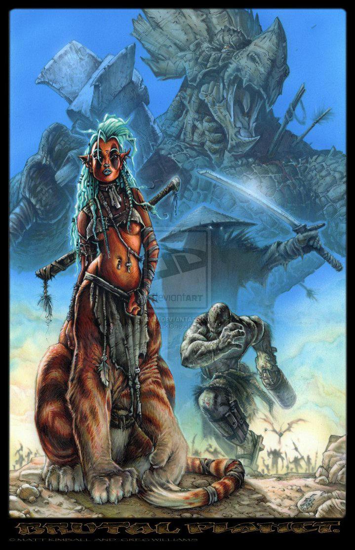 Brutal Planet 4 Cover By Planetdarkone-d2ygywu by PlanetDarkOne