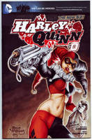 Harley Quinn #0 Sketch cover by PlanetDarkOne
