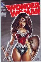 WONDER WOMAN #36 VARIANT sketch cover by PlanetDarkOne