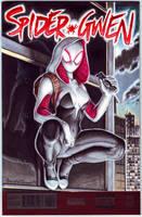 Spider Gwen #1 Variant cover by PlanetDarkOne