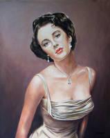 Elizabeth Taylor by andylloyd