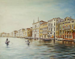 The Boat Race, Venice-style by andylloyd