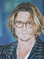 Johnny Depp by andylloyd