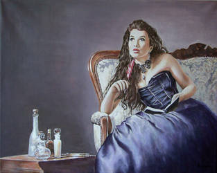 The Poetess by andylloyd