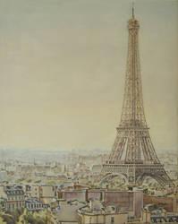 La Tour Eiffel by andylloyd