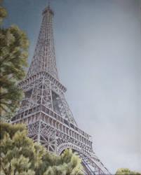 La Tour Eiffel 2 by andylloyd