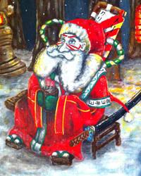 Kabuki Santa Part 2 by TheLandoBros