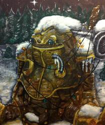 Christmas Chrono Trigger - Robo by TheLandoBros