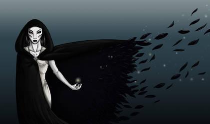 Raven-queen by Cheesedemon88