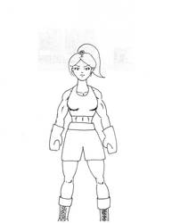 SatoshiTakeo-Boxing01-WIP-CleanInk by waynehom