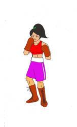 SatoshiTakeo-Boxing02-WIP-ColorFlat by waynehom