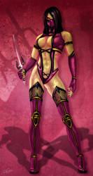 Mileena by KeithByrne