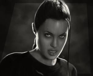 Terminate Lara Croft by KeithByrne