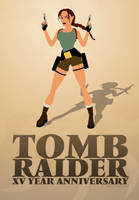 Tomb Raider XV Anniversary by KeithByrne
