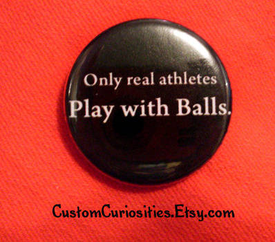 Real athletes play with balls by ElectrikPinkPirate