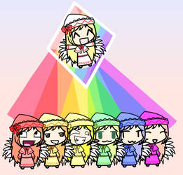 LilyRainbow by awesomedude2011