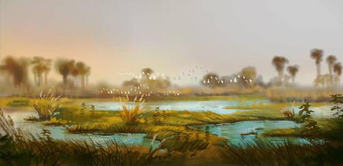 Land of birth - the delta by Roiuky