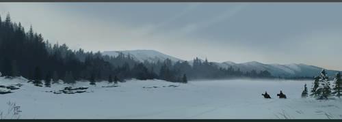 The border of Blackwald by Roiuky