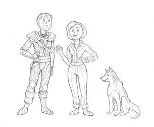 Fallout 3 Team by BartimaeusTrilogyFan