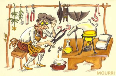 Alchemist by mourri