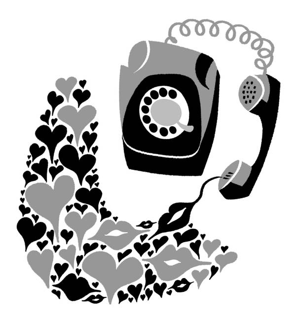 Telephone by mourri