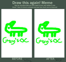 Draw this again! Meme by Klashik