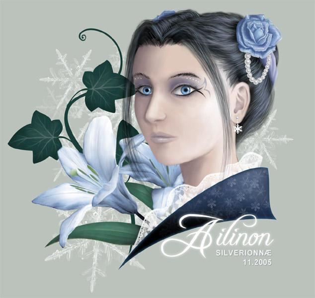 Frozen Garden by Ailinon