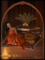 Pomegranate Princess by Ailinon
