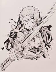 Hana (Kazahana) Fire Emblem Fates by Syuzaki
