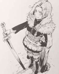 Rosa Fanart by Syuzaki