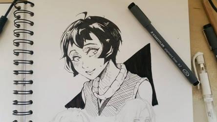 Random Girl by Syuzaki