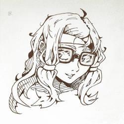 Glasses Hana by Syuzaki