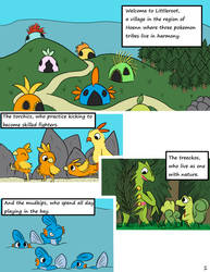 Finding Your Roots- Chapter 1, Page 1 by YellowMouseDraws
