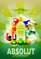 Absolute Vodka by DZNho