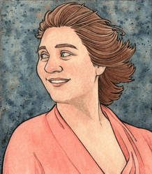 Self-Portrait by cillabub