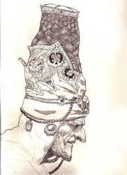 shaman priest by AlexPascenko