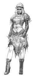 draculas maidservant by AlexPascenko