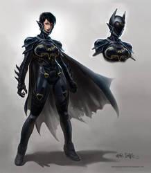 The Cassandra Cain Batgirl by AlexPascenko